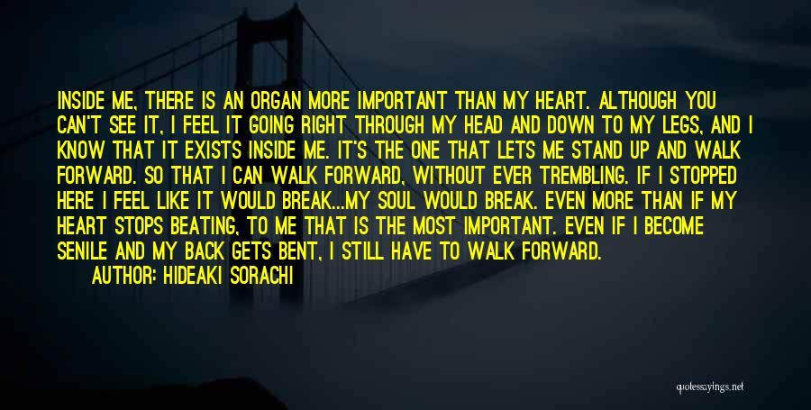 You Break Me Down Quotes By Hideaki Sorachi