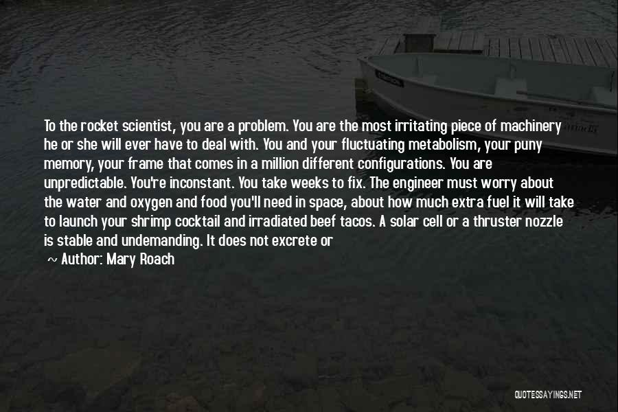 You Break Me Down Quotes By Mary Roach
