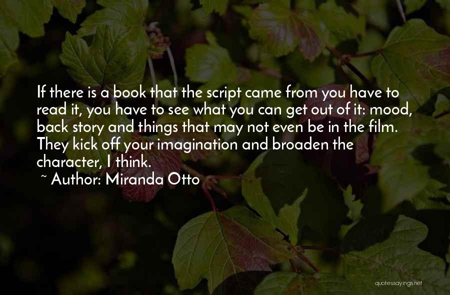 You Came Back Quotes By Miranda Otto