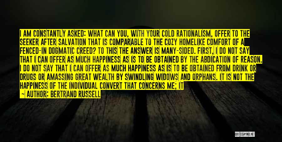 You Can Reason Quotes By Bertrand Russell