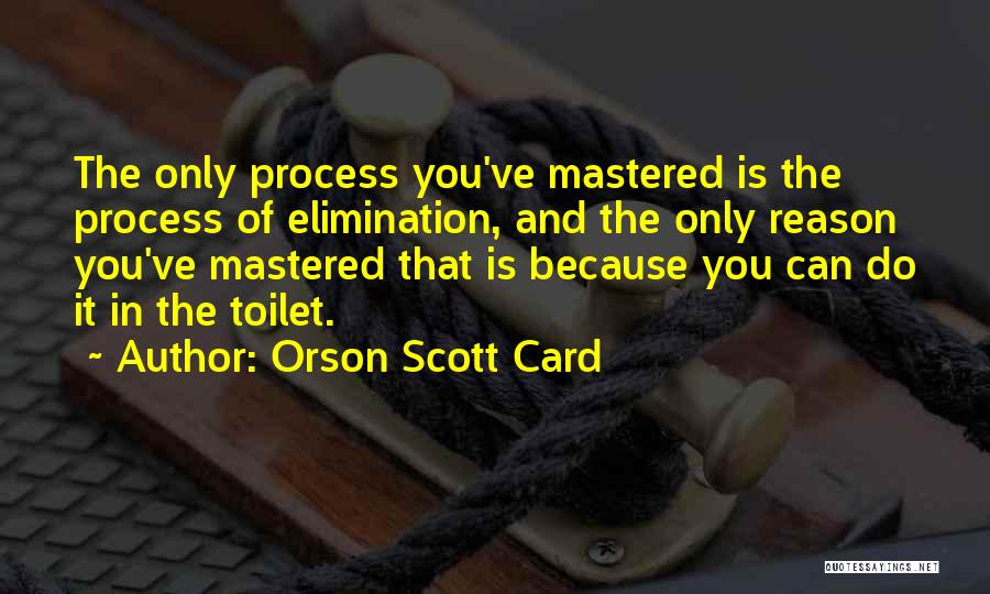 You Can Reason Quotes By Orson Scott Card