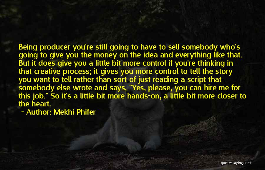 You Can Tell Me Everything Quotes By Mekhi Phifer