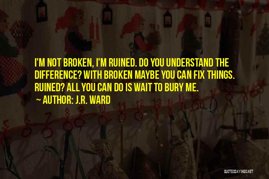 You Can Understand Me Quotes By J.R. Ward