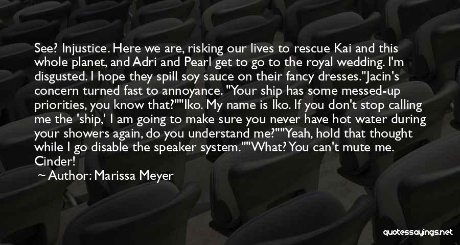You Can Understand Me Quotes By Marissa Meyer