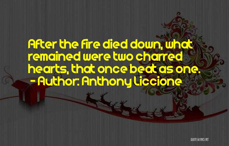 You Can't Beat Me Down Quotes By Anthony Liccione