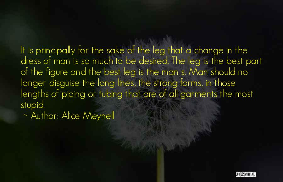 You Can't Change Stupid Quotes By Alice Meynell