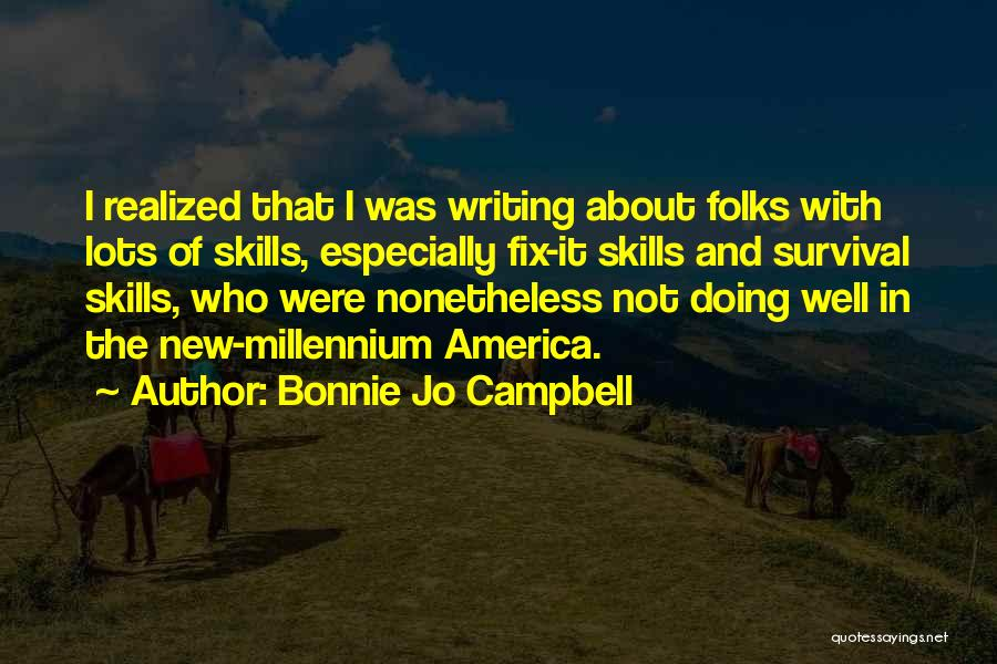 You Can't Fix The Past Quotes By Bonnie Jo Campbell