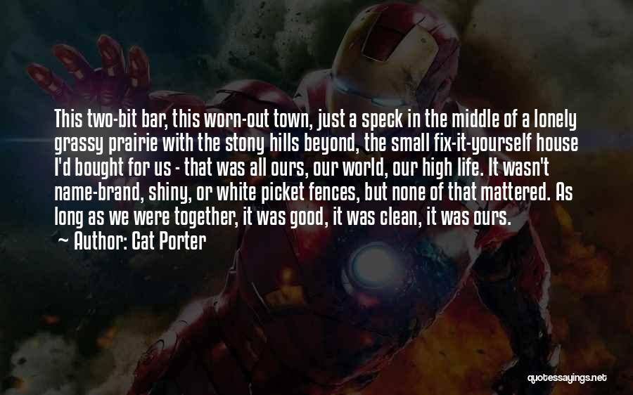 You Can't Fix The Past Quotes By Cat Porter