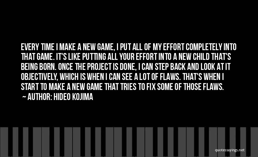You Can't Fix The Past Quotes By Hideo Kojima