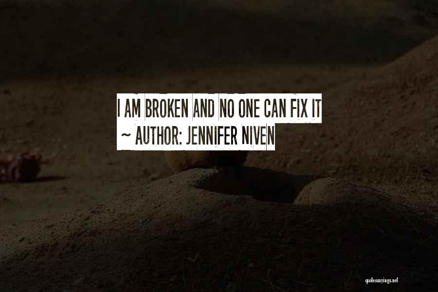 You Can't Fix The Past Quotes By Jennifer Niven