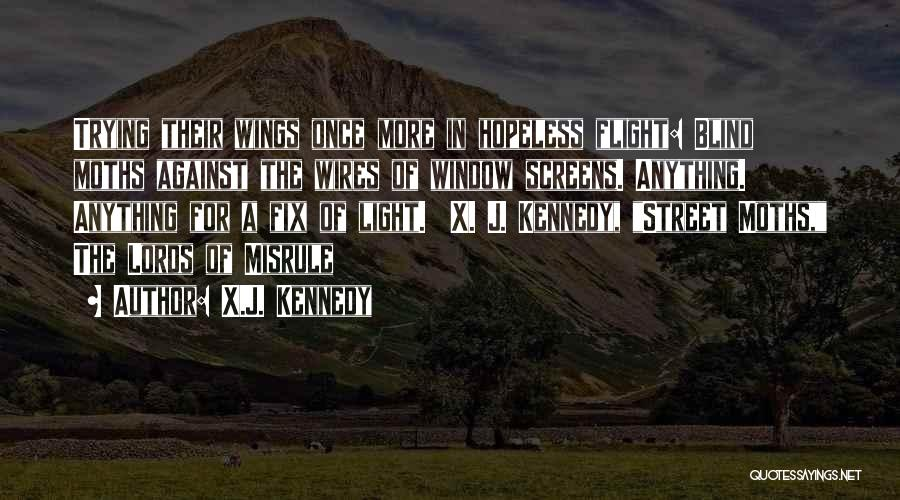 You Can't Fix The Past Quotes By X.J. Kennedy