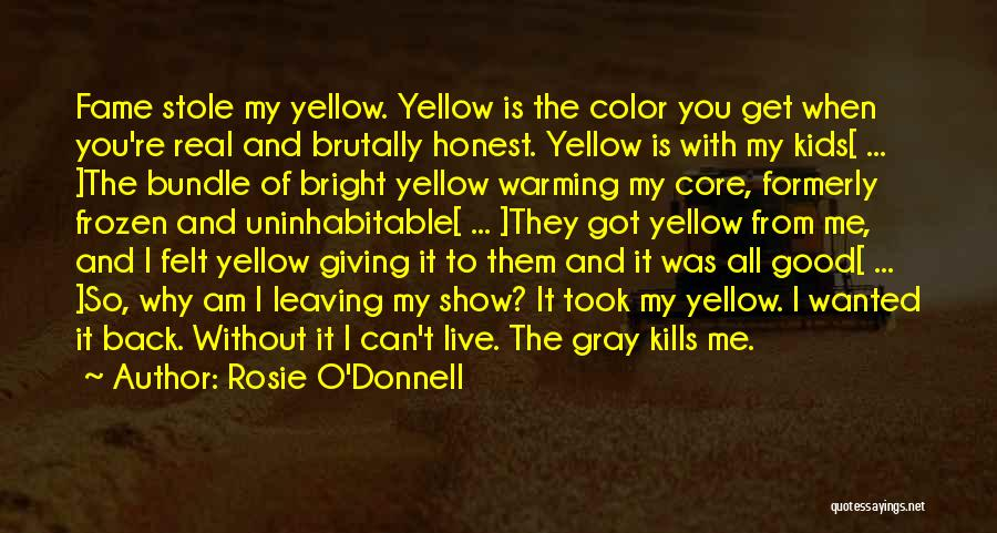 You Can't Get Me Back Quotes By Rosie O'Donnell