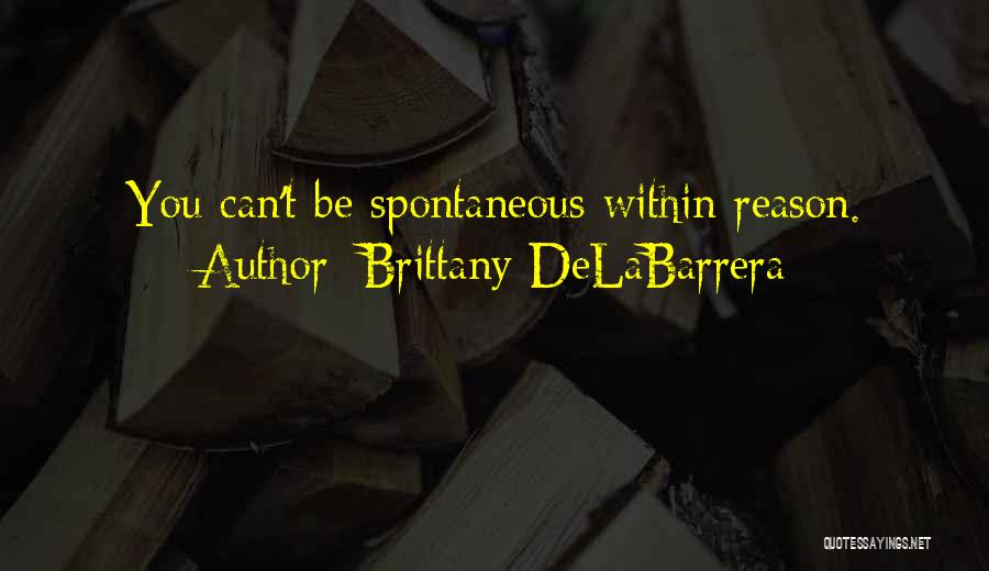 You Can't Reason With Crazy Quotes By Brittany DeLaBarrera