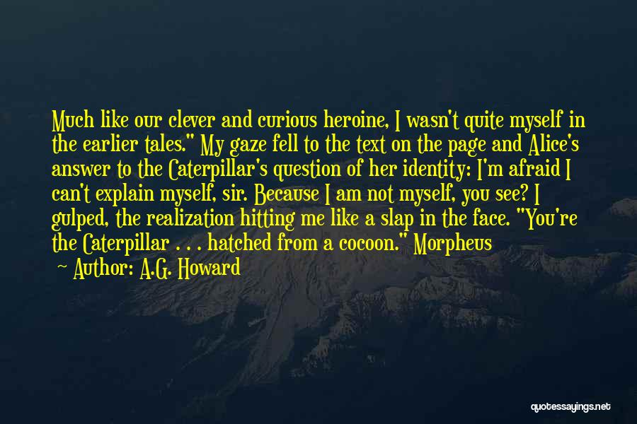 You Can't See My Face Quotes By A.G. Howard