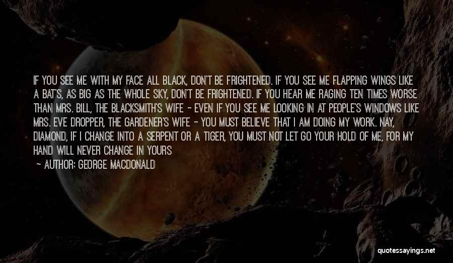 You Can't See My Face Quotes By George MacDonald