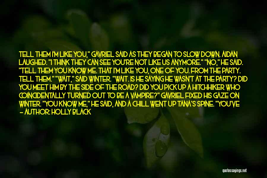 You Can't See My Face Quotes By Holly Black
