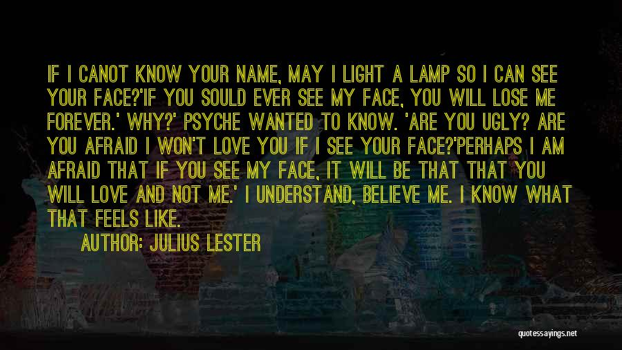 You Can't See My Face Quotes By Julius Lester