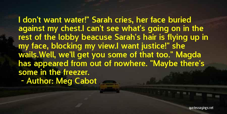 You Can't See My Face Quotes By Meg Cabot