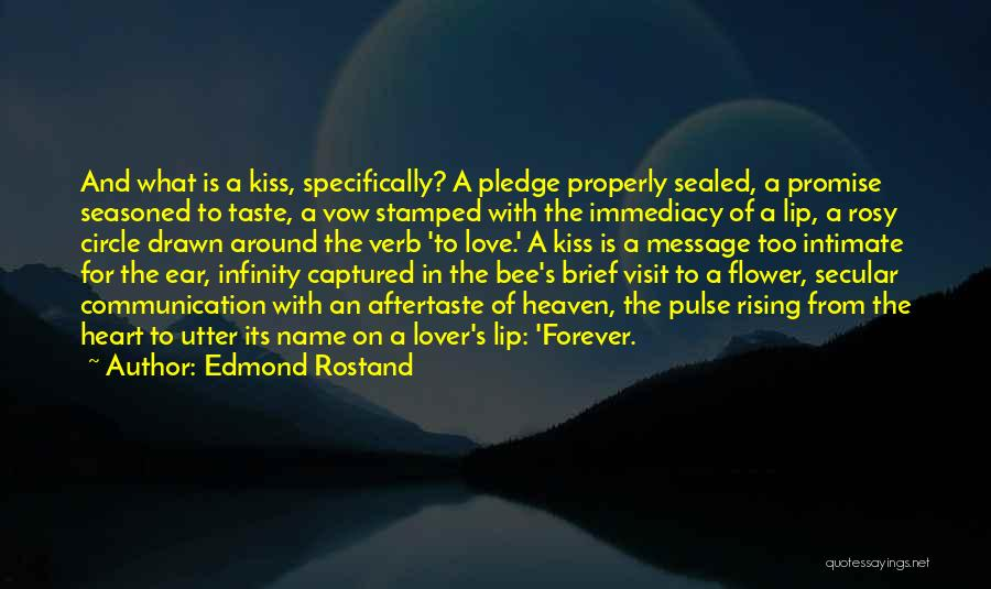 You Captured My Heart Quotes By Edmond Rostand