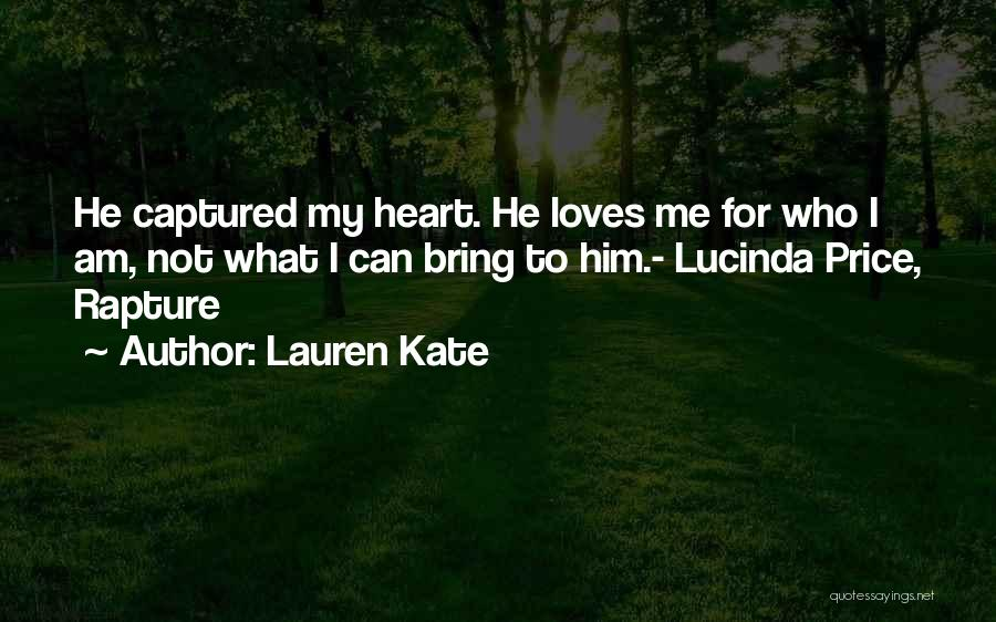 You Captured My Heart Quotes By Lauren Kate