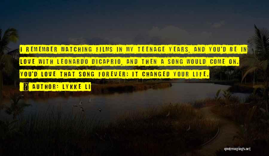 You Come In My Life Quotes By Lykke Li