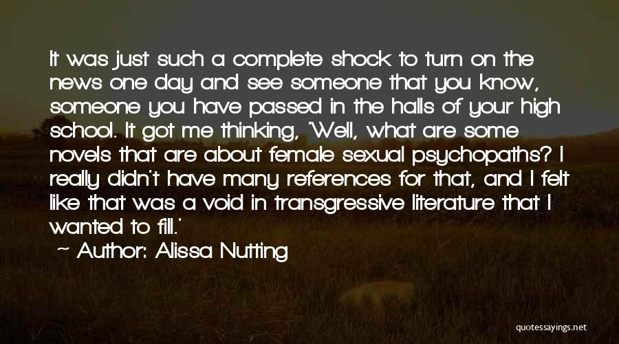 You Complete Me Like Quotes By Alissa Nutting