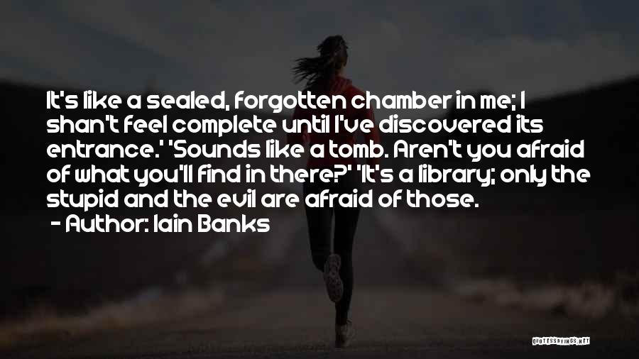 You Complete Me Like Quotes By Iain Banks