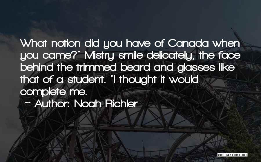 You Complete Me Like Quotes By Noah Richler