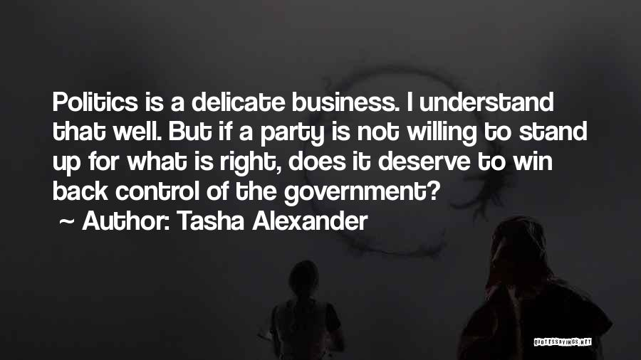 You Deserve To Win Quotes By Tasha Alexander