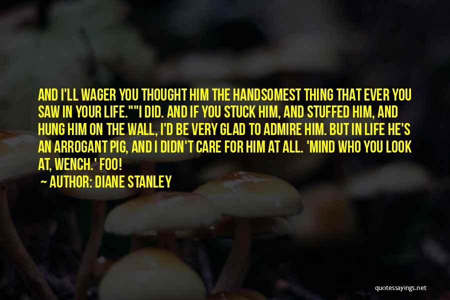 You Didn't Care Quotes By Diane Stanley