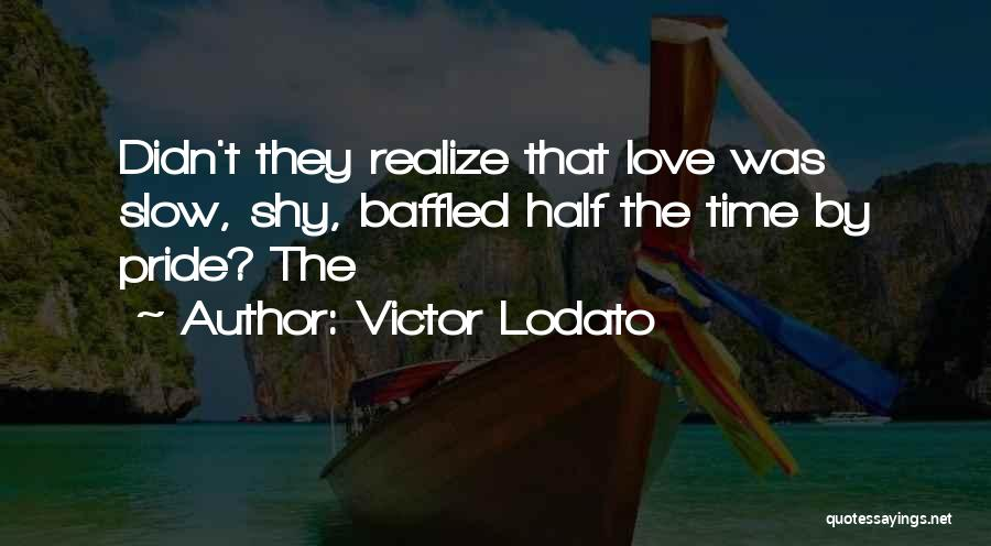 You Didn't Realize What You Had Quotes By Victor Lodato