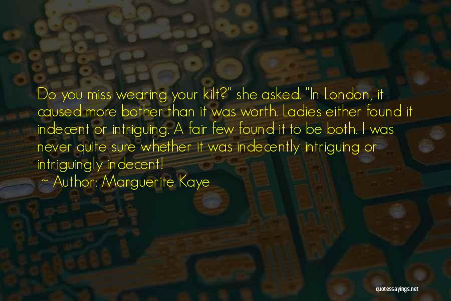 You Do It Quotes By Marguerite Kaye