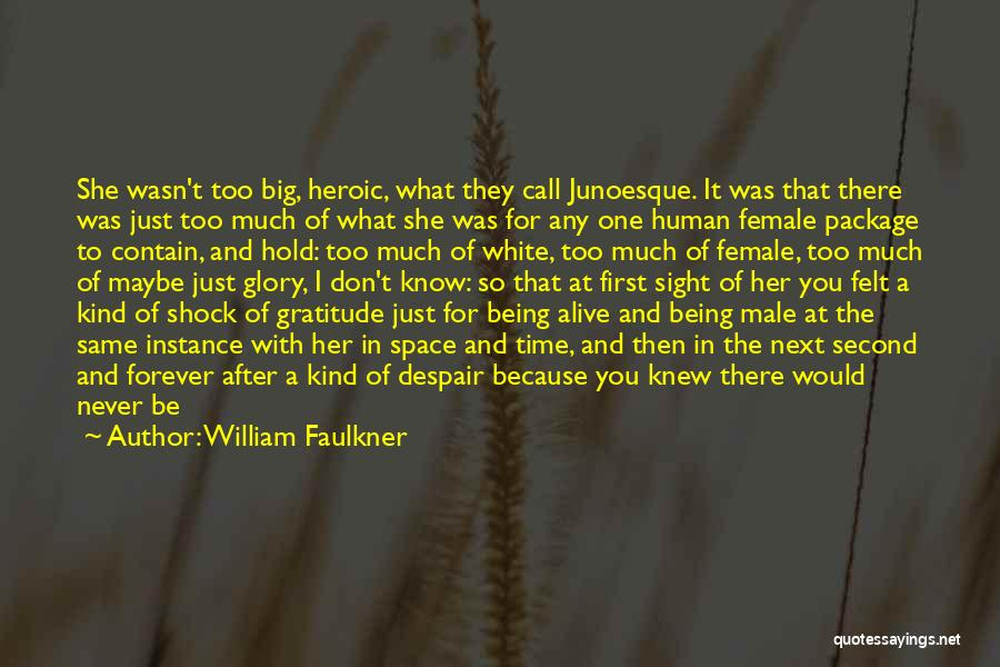 You Don't Deserve Me At My Best Quotes By William Faulkner