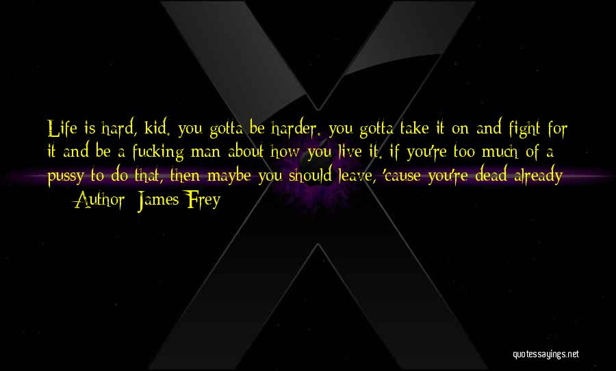 You Gotta Fight Quotes By James Frey