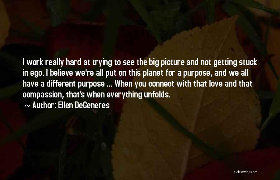 You Have A Big Ego Quotes By Ellen DeGeneres