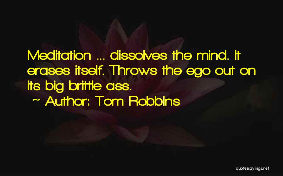 You Have A Big Ego Quotes By Tom Robbins