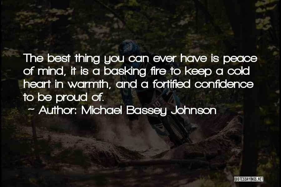 You Have A Cold Heart Quotes By Michael Bassey Johnson