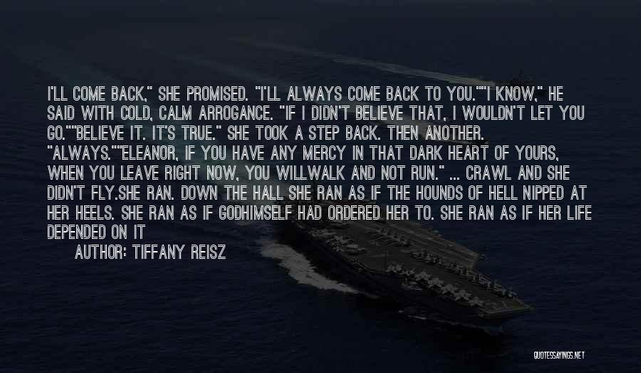 You Have A Cold Heart Quotes By Tiffany Reisz