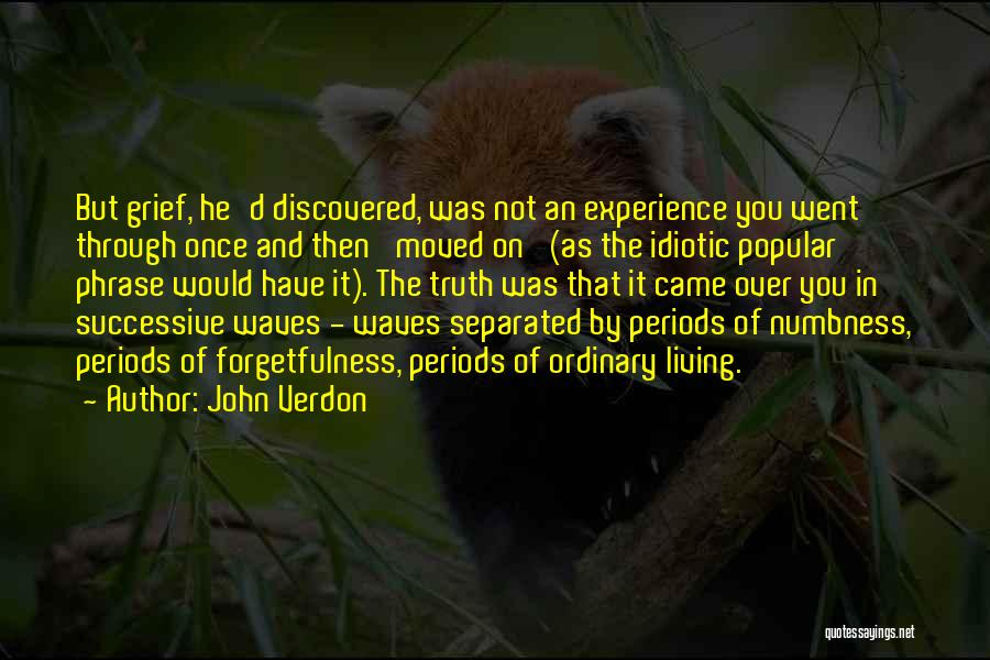 You Have Moved On Quotes By John Verdon