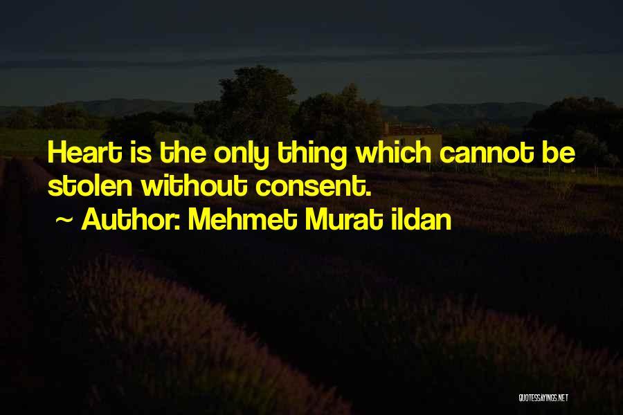 You Have Stolen My Heart Quotes By Mehmet Murat Ildan