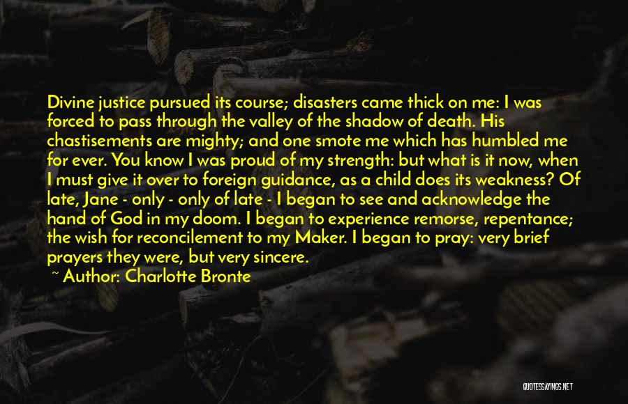 You In My Prayers Quotes By Charlotte Bronte