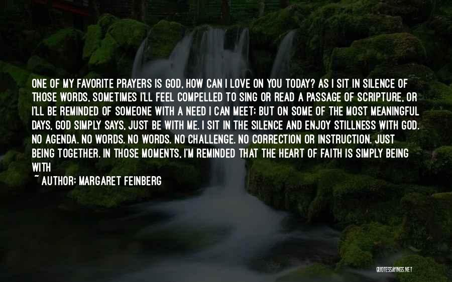 You In My Prayers Quotes By Margaret Feinberg