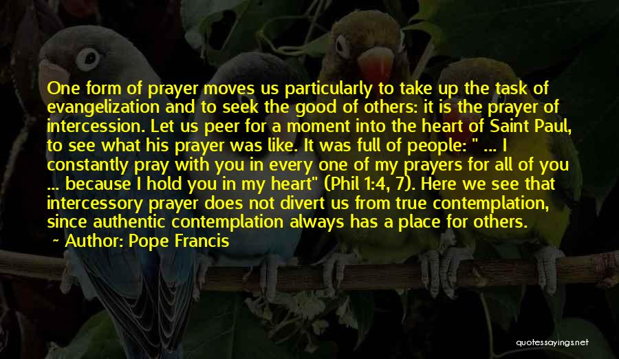 You In My Prayers Quotes By Pope Francis
