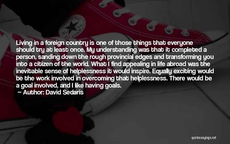 You Inspire Me Quotes By David Sedaris