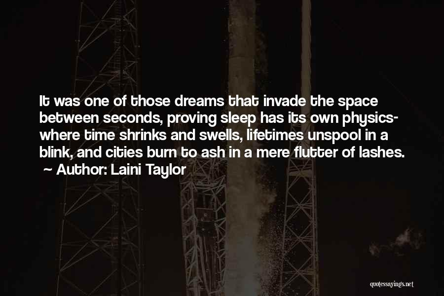 You Invade My Dreams Quotes By Laini Taylor