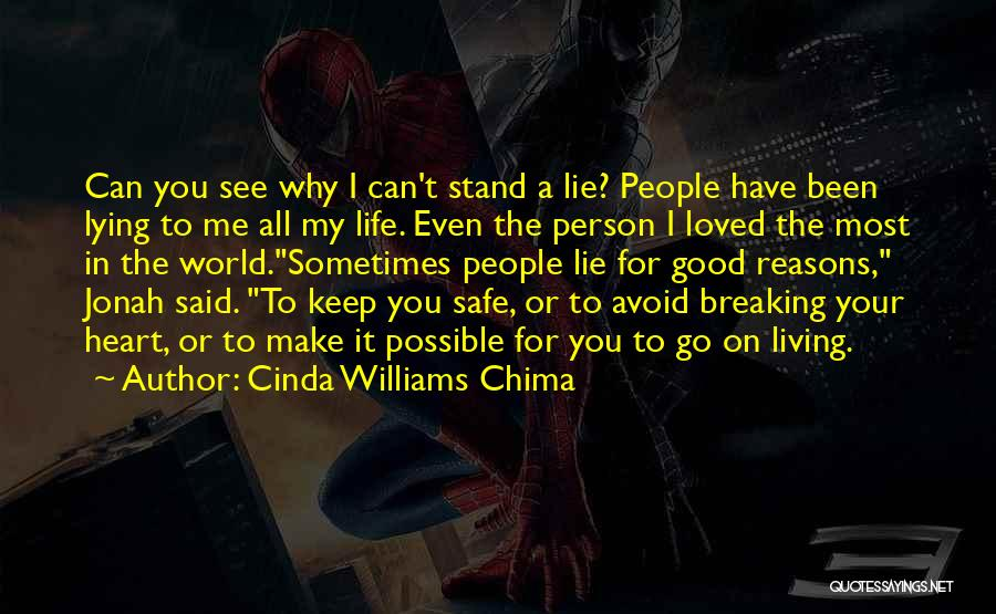 You Keep Me Safe Quotes By Cinda Williams Chima