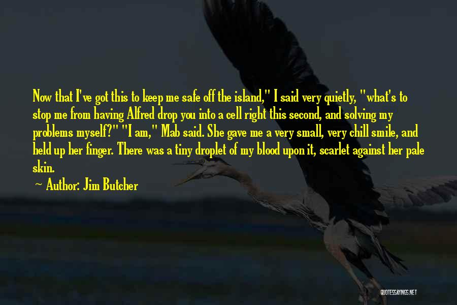 You Keep Me Safe Quotes By Jim Butcher