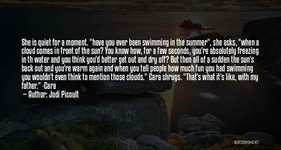 You Know It's Summer When Quotes By Jodi Picoult
