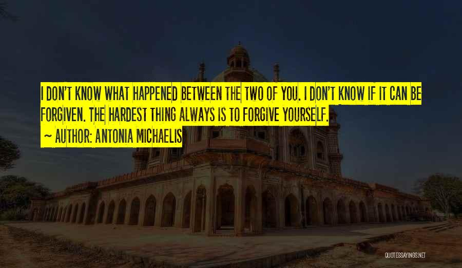 You Know She's A Keeper Quotes By Antonia Michaelis