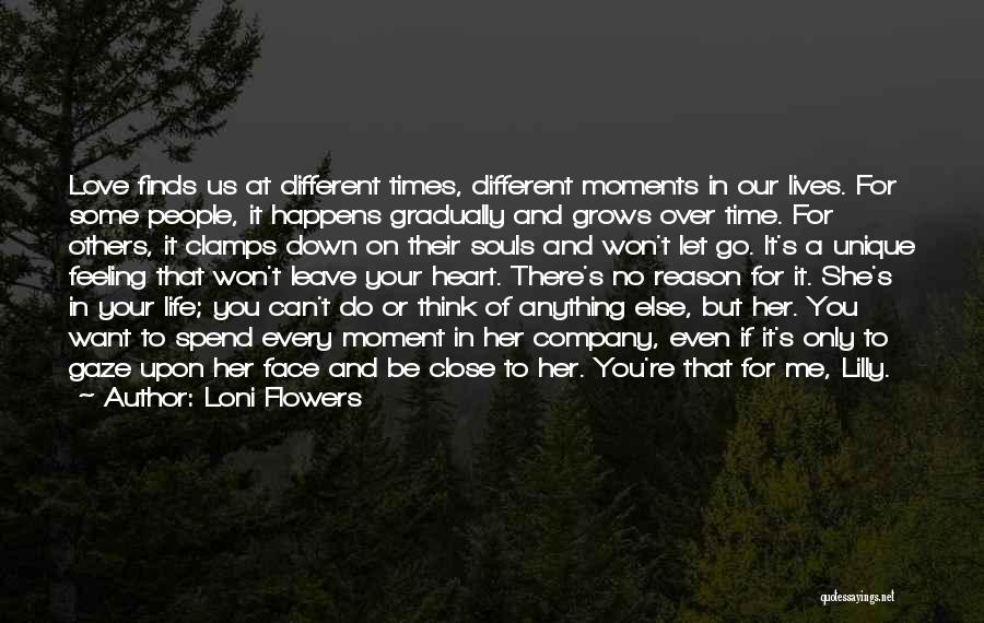 You Let Me Down Love Quotes By Loni Flowers